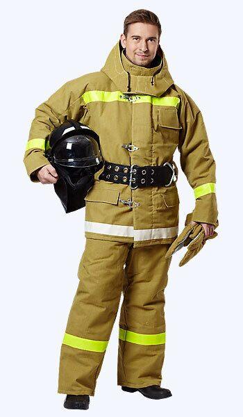 Повседневная форма одежды пожарного 123